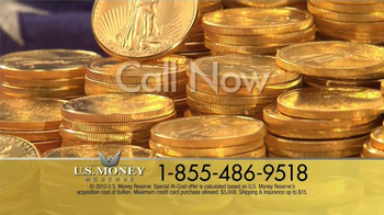 U.S. Money Reserve TV Spot, 'Solid Gold Coins' - Thumbnail 4