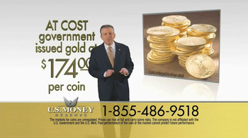 U.S. Money Reserve TV Spot, 'Solid Gold Coins' - Thumbnail 5