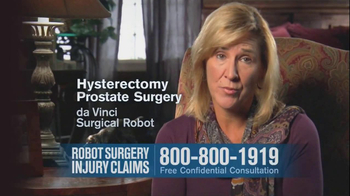 Becnel Law Firm TV Spot, 'Bad Robot Surgery' - Thumbnail 2