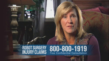 Becnel Law Firm TV Spot, 'Bad Robot Surgery' - Thumbnail 3