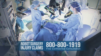 Becnel Law Firm TV Spot, 'Bad Robot Surgery' - Thumbnail 5