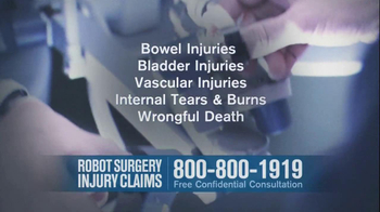 Becnel Law Firm TV Spot, 'Bad Robot Surgery' - Thumbnail 6