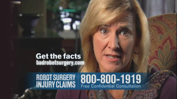 Becnel Law Firm TV Spot, 'Bad Robot Surgery' - Thumbnail 8
