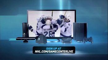 NHL Game Center Live TV Spot