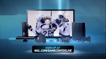NHL Game Center Live TV Spot