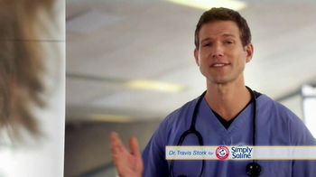 Simply Saline TV Spot, 'Average Cold' Featuring Dr. Travis Stork  - Thumbnail 1