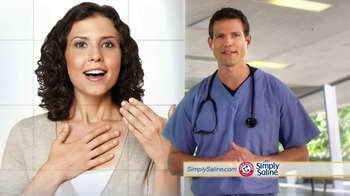 Simply Saline TV Spot, 'Average Cold' Featuring Dr. Travis Stork  - Thumbnail 4