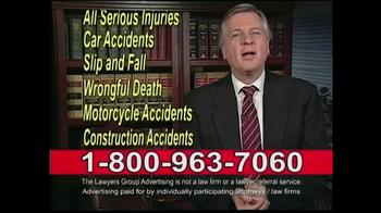 Lawyers Group TV Spot, 'Been Hurt'