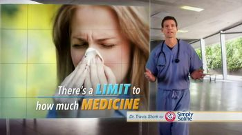 Simply Saline TV Spot, 'Medicine Limit' Featuring Dr. Travis Stork
