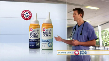 Simply Saline TV Spot, 'Medicine Limit' Featuring Dr. Travis Stork - Thumbnail 4