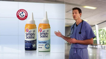 Simply Saline TV Spot, 'Medicine Limit' Featuring Dr. Travis Stork - Thumbnail 6