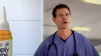 Simply Saline TV Spot, 'Medicine Limit' Featuring Dr. Travis Stork - Thumbnail 7
