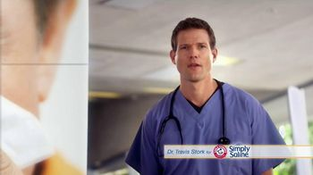 Simply Saline TV Spot, 'Year Round Congestion' Featuring Dr. Travis Stork - Thumbnail 1
