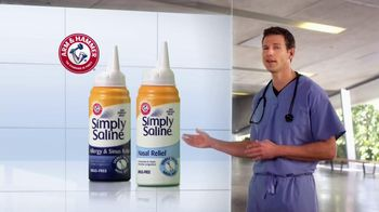 Simply Saline TV Spot, 'Year Round Congestion' Featuring Dr. Travis Stork - Thumbnail 4