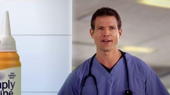 Simply Saline TV Spot, 'Year Round Congestion' Featuring Dr. Travis Stork - Thumbnail 5