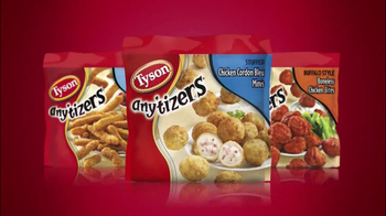 Tyson Foods Any'tizers TV Spot, 'Game-time Snacks' - Thumbnail 3