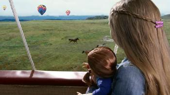 American Girl Saige TV Spot, 'Hot Air Balloons and Horses' - Thumbnail 3