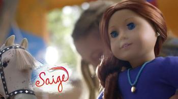 American Girl Saige TV Spot, 'Hot Air Balloons and Horses' - Thumbnail 6