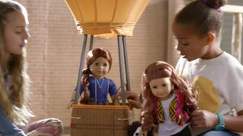 American Girl Saige TV Spot, 'Hot Air Balloons and Horses' - 210 commercial airings