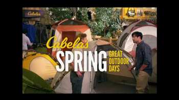 Cabela's Spring Outdoor Days TV Spot  - Thumbnail 1