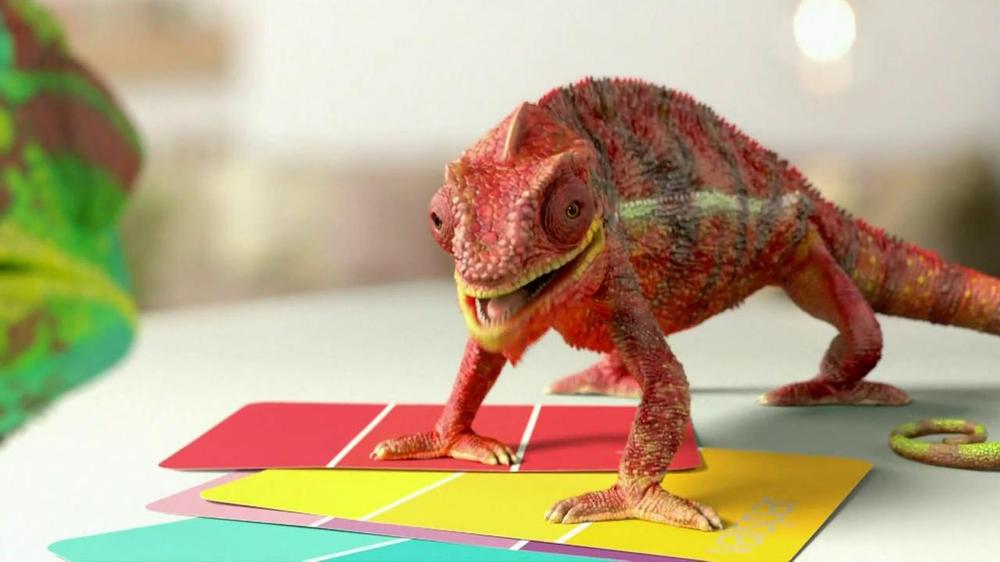 Valspar TV Commercial, 'Chameleons'