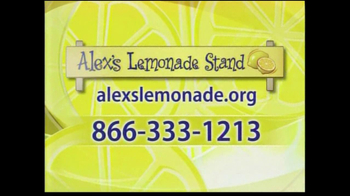 Alex's Lemonade Stand TV Spot Featuring Peter Facinelli - Thumbnail 8