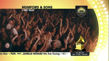 2013 Grammy Nominess Album TV Spot - Thumbnail 9