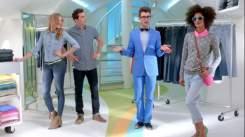 Old Navy Jeans TV Spot, 'Brief Style Demonstration' Featuring Brad Goreski - Thumbnail 8
