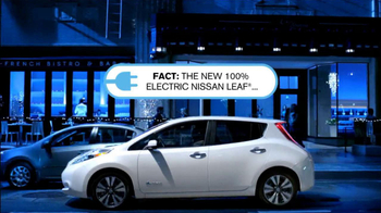 2013 Nissan Leaf TV Spot, 'Facts' - Thumbnail 2