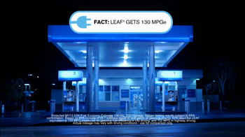 2013 Nissan Leaf TV Spot, 'Facts' - Thumbnail 7