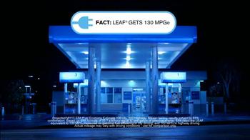 2013 Nissan Leaf TV Spot, 'Facts' - Thumbnail 7