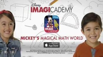 Disney IMAGICADEMY Mickey's Magical Math World App TV Spot, 'Magic Doodles' - Thumbnail 8