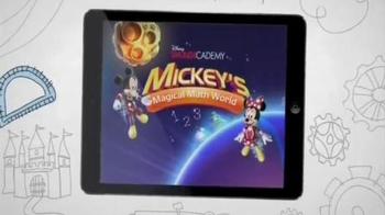 Disney IMAGICADEMY Mickey's Magical Math World App TV Spot, 'Magic Doodles' - Thumbnail 4