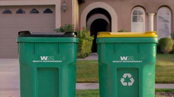 Waste Management TV Spot, 'Trash Can' - Thumbnail 5
