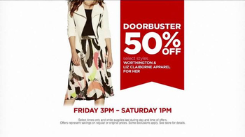 JCPenney Super Saturday Sale February 2015 TV Spot, 'Save the Date' - Thumbnail 4