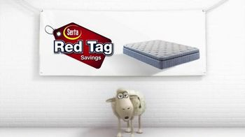 Serta Red Tag Savings TV Spot, 'Cross the Line' - Thumbnail 1