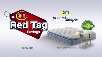 Serta Red Tag Savings TV Spot, 'Cross the Line' - Thumbnail 10