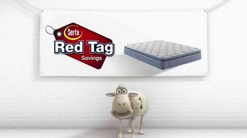 Serta Red Tag Savings TV Spot, 'Cross the Line' - Thumbnail 2