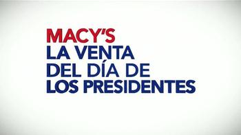 Macy's La Venta del Día de los Presidentes TV Spot, 'Colchones' [Spanish] - Thumbnail 8