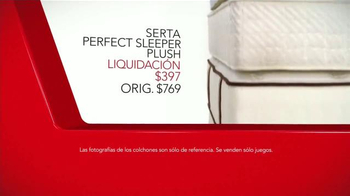 Macy's La Venta del Día de los Presidentes TV Spot, 'Colchones' [Spanish] - Thumbnail 5