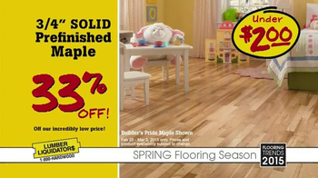 Lumber Liquidators TV Spot, 'Spring Flooring Season' - Thumbnail 6