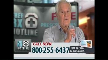 Free RX Hotline TV Spot, \'Brand Name Prescriptions\'