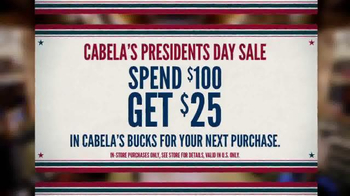 Cabela's Presidents Day Sale TV Spot, 'Teddy Roosevelt' - Thumbnail 9