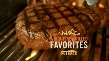 Outback Steakhouse Wood-Fire Grilled Favorite TV Spot, 'Click Thru Seating'