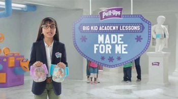 Huggies Pull-Ups TV Spot, 'Big Kid Academy Lessons: Made for Me' - Thumbnail 1