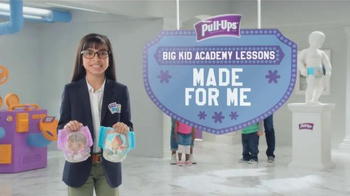 Huggies Pull-Ups TV Spot, 'Big Kid Academy Lessons: Made for Me' - 1229 commercial airings