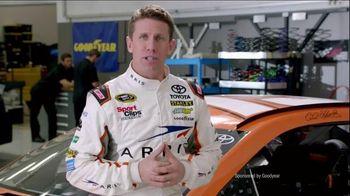 Goodyear TV Spot, 'Tire Talk: Combo Alt' Featuring Carl Edwards