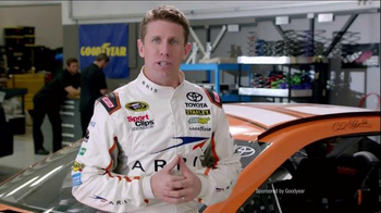 Goodyear TV Spot, 'Tire Talk: Combo Alt' Featuring Carl Edwards - 56 commercial airings