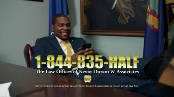 Sprint TV Spot, 'Kevin Durant Lays Down the Law' - 415 commercial airings