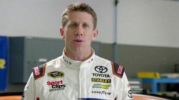 Goodyear TV Spot, 'Tire Talk: Water' Featuring Carl Edwards